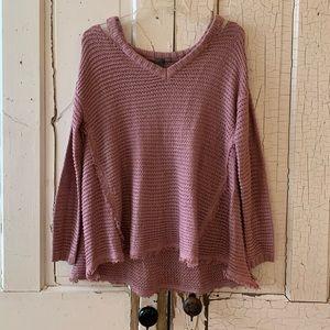 Quinn mauve sweater Size Small